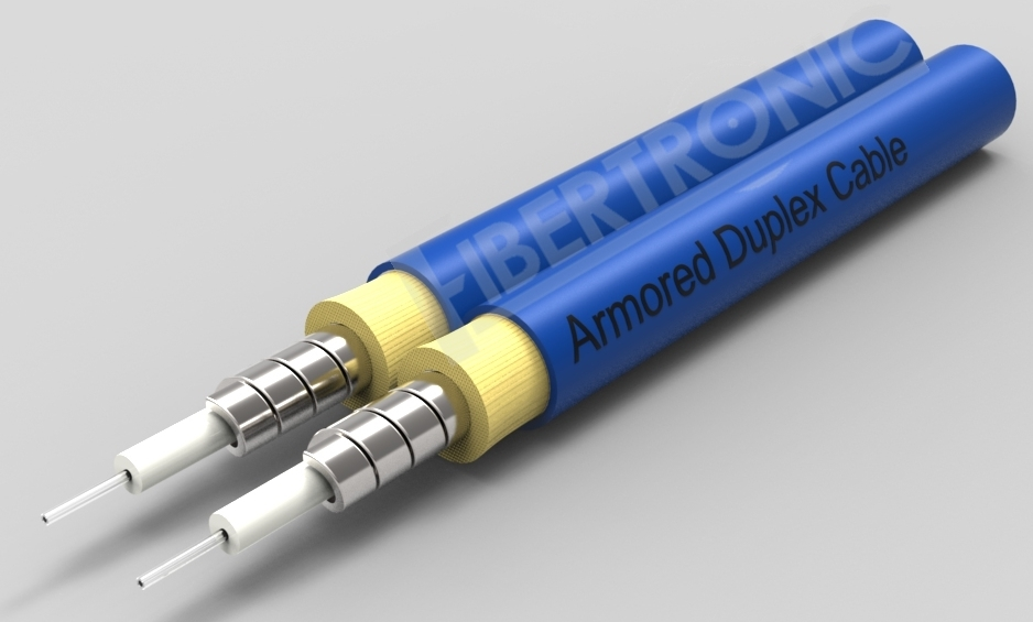 GJSFJBV - SM Duplex 2.0mm Armored Cable - Blue