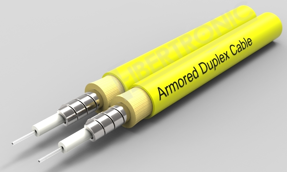 GJSFJBV - SM Duplex 2.0mm Armored Cable - Yellow